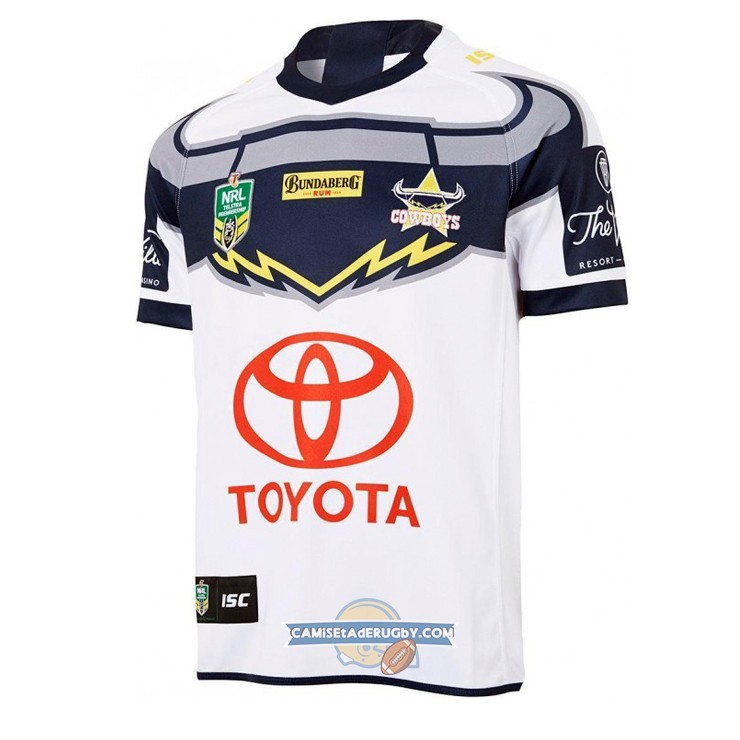 Camiseta North Queensland Cowboys Rugby 2018 Segunda