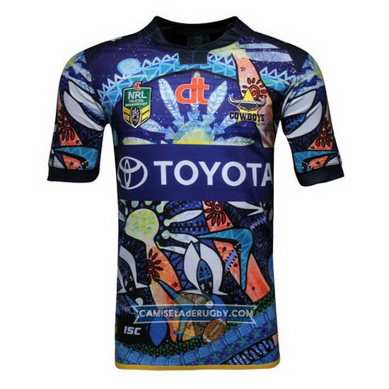 Camiseta de North Queensland Cowboys Indigenous 2016
