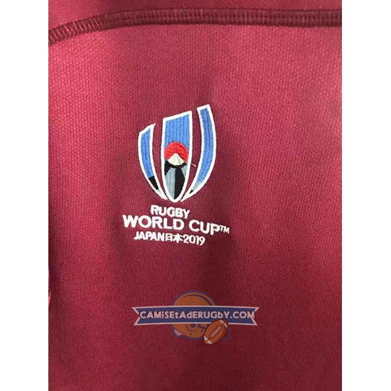 Camiseta Georgia Rugby RWC 2019 Marron