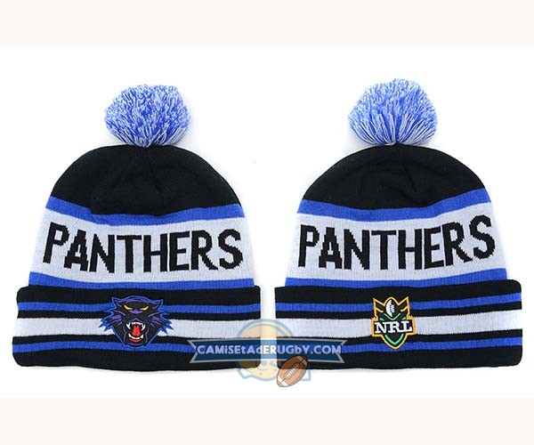 Gorros NRL Penrith Panthers Negro Blanco Azul Real