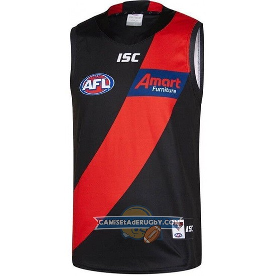 Camiseta Essendon Bombers AFL 2019 Negro