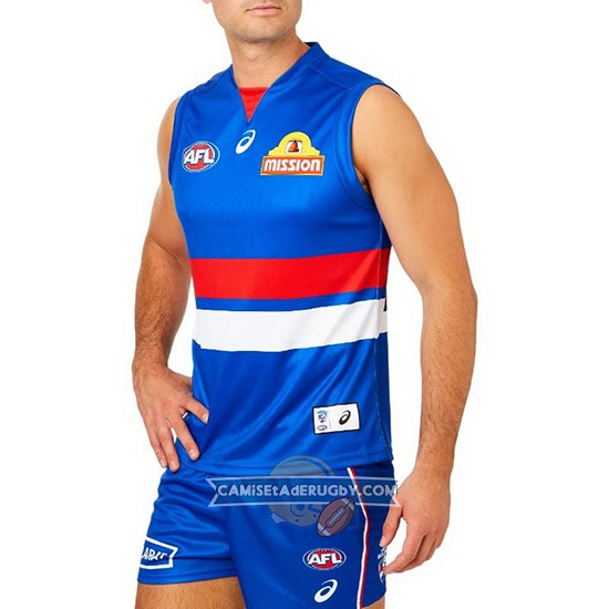 Camiseta Western Bulldogs AFL 2019 Local