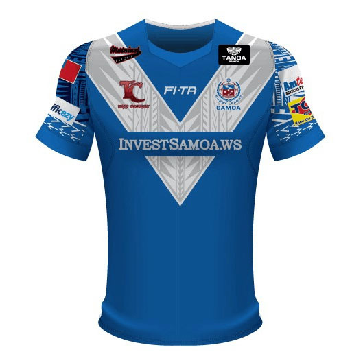 Camiseta Samoa Rugby 2017-18 Local