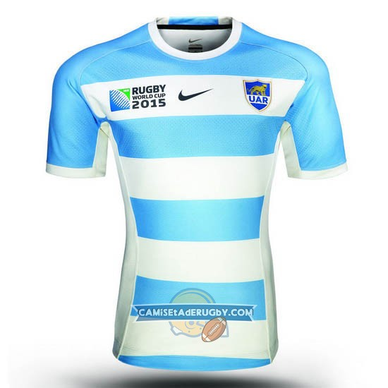 Camiseta de Argentina Rugby World Cup 2015 Local
