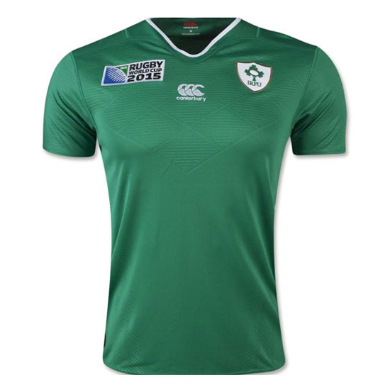 Camiseta de Ireland Rugby World Cup 2015 Local