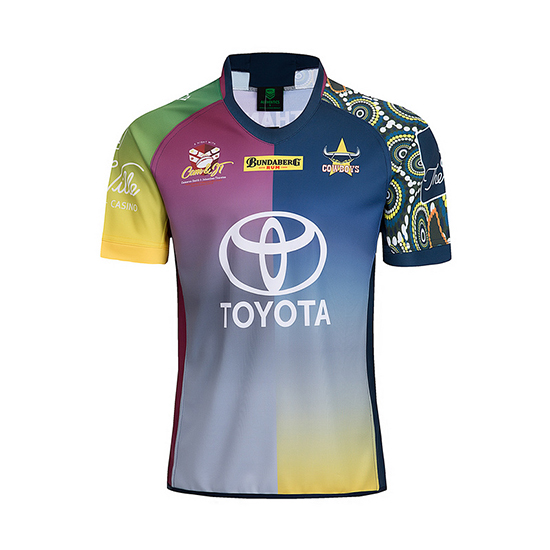 Camiseta North Queensland Cowboys Rugby 2018-19 Commemorative