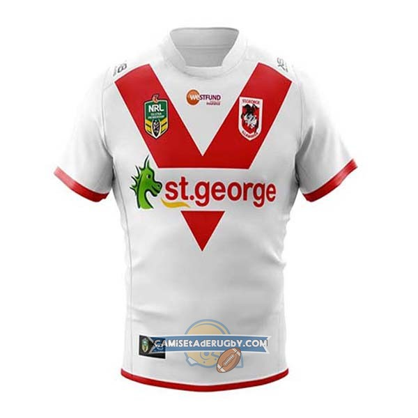 Camiseta St George Illawarra Dragons Rugby 2018-19 Local