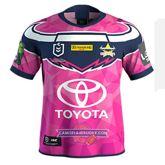 Camiseta North Queensland Cowboys Rugby 2019-2020 Conmemorative