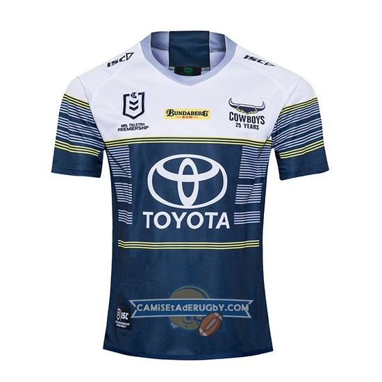 Camiseta North Queensland Cowboys Rugby 2020 Segunda