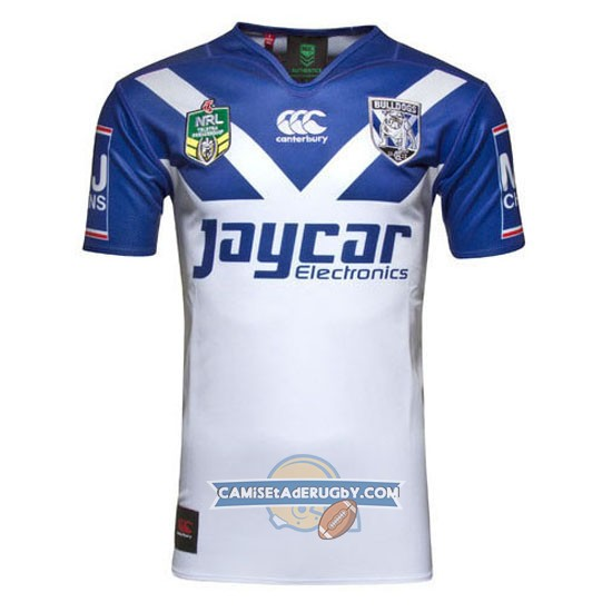 Camiseta de Canterbury-Bankstown Bulldogs NRL Local 2016