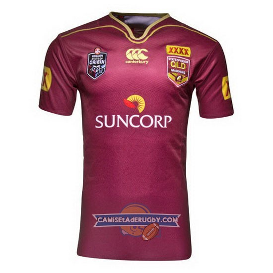 Camiseta de Queensland Maroons Canterbury State Of Origin 2016