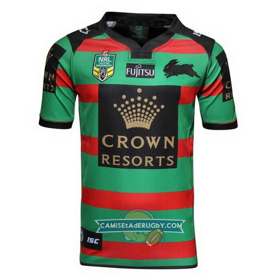 Camiseta de South Sydney Rabbitohs NRL Local 2016