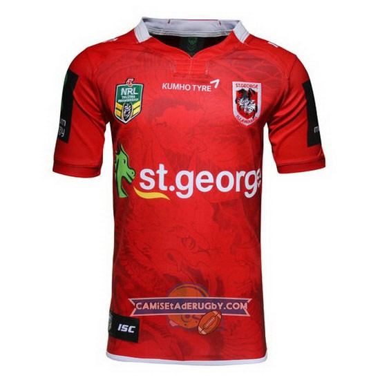 Camiseta de St. George Illawarra Dragons NRL Alternate 2016