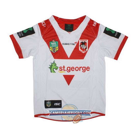 Camiseta de St. George Illawarra Dragons NRL Local 2016