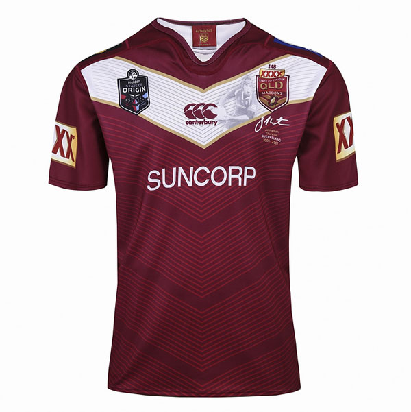 Camiseta Maroons Rugby 2017 Thurston