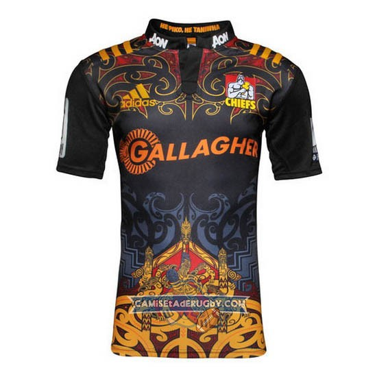 Camiseta de Chiefs Super Rugby Local 2016