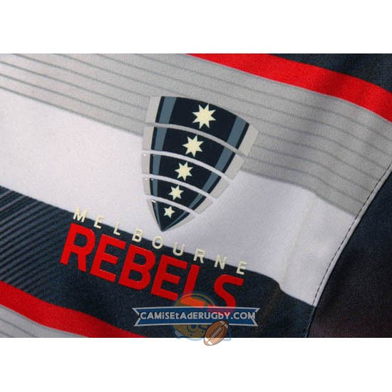 Camiseta de Melbourne Rebels BLK Super Rugby Local 2016
