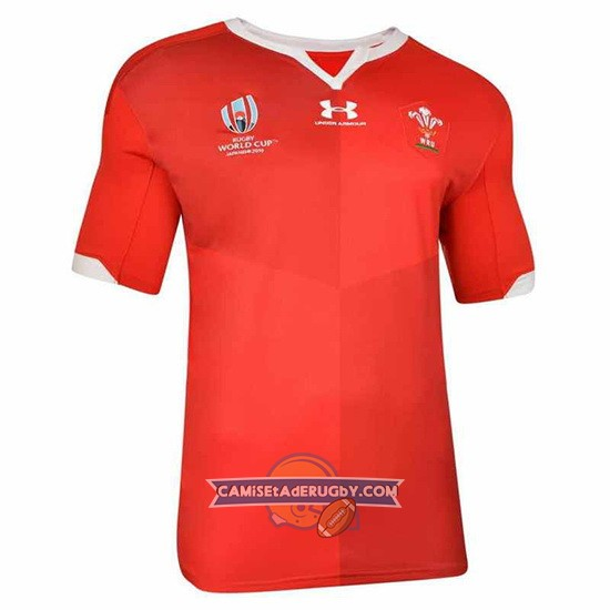 Camiseta Gales Rugby RWC2019 Local