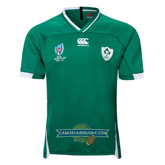 Camiseta Irlanda Rugby RWC2019 Local