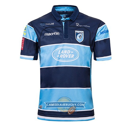 Camiseta Blues Rugby 2018-19 Local